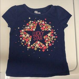 4T Lucky Star T shirt